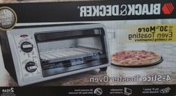 Black + Decker Electric 4 Slice Of Bread Electric Counter To