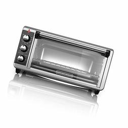 Black Decker TO3250XSB 8-Slice Extra Wide Toaster Oven, Blac