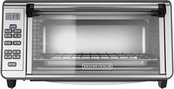 Black+Decker TO3290XSBD Toaster Oven, 8-Slice, Stainless Ste