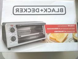 Black & Decker Toaster Oven/Broiler 4 Slice, 9 In. Pizza Sta