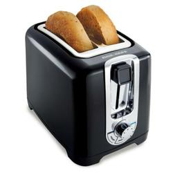 BLACK+DECKER TR1256B 2-Slice Toaster with Bagel Function, Bl