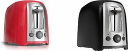 BLACK+DECKER TR1278 2-Slice Toaster, 2 Colors