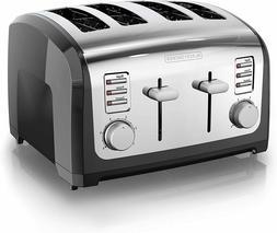4 slice toaster stainless steel t4030