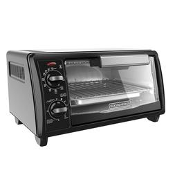 BRAND NEW BLACK+DECKER TO1342B 4-Slice Toaster Oven, Black
