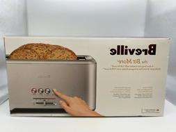 Breville - the 'A Bit More 4-Slice Long-Slot Toaster - Stain