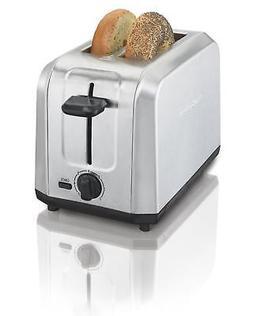 Hamilton Beach Brushed Stainless Steel 2-Slice Toaster