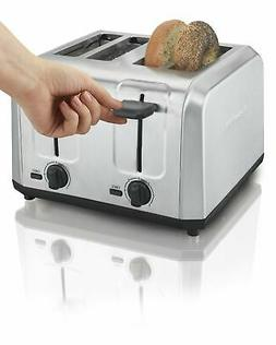 Hamilton Beach Brushed Stainless Steel 4-Slice Toaster Home