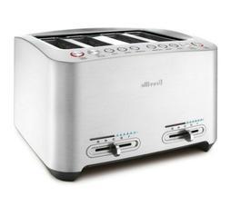 Breville BTA840XL Die-Cast 4-Slice Smart Toaster, New!