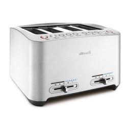 Breville BTA840XL Die-Cast 4-Slice Smart Toaster 110 Volts