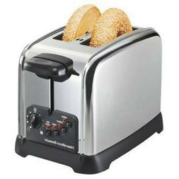 Hamilton Beach Classic Chrome 2 Slice Toaster  2-Slice