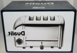 Dualit - Newgen 4-slice Extra-wide-slot Toaster - Metallic S