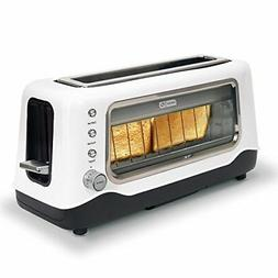 Clear View Toaster, White