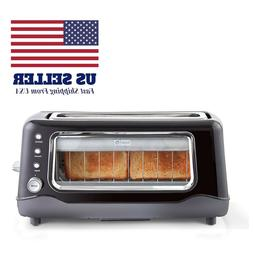 Dash Clear View Toaster Extra Wide Slot Toaster with Stainle