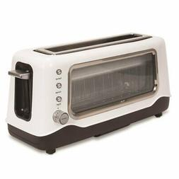 DASH CLEARVIEW TOASTER - WHITE