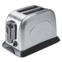 Coffee Pro CFPOG8073 2 Slice Toaster with Crumb Tray, and El