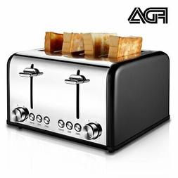 compact 4 slice toasters rated