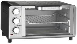 Cuisinart Compact Toaster Oven Broiler with Bake, Broil, Toa