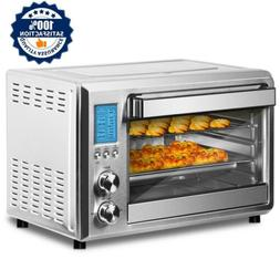 Convection Digital Toaster Oven Stainless Steel W/LCD Displa