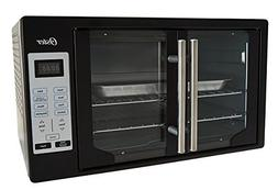 Oster Convection Digital French Door Oven Black with Stainle
