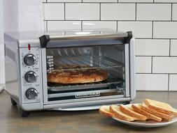 CONVECTION OVEN COUNTERTOP Pizza Toaster Stainless Steel Bak