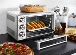 Convection Toaster Oven 6 Slice Family Size Pizza Cook Broil