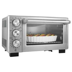 Convection Toaster Oven Cook Bake Broil Meal Snack Crumb Tra