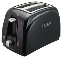 Cookmate 2-Slice Toaster, 7 Temperature Levels, Sleek Unibod