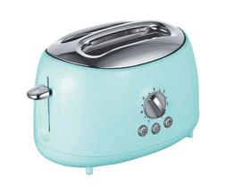Brentwood Cool Touch 2-Slice Extra Wide Slot Retro Toaster |