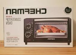 Chefman RJ25-4-CL 4 Slice Toast Bake & Broil Countertop Oven