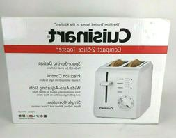 Cuisinart CPT-122 2-Slice Toaster Space Saving Design Bagel