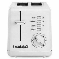 Cuisinart CPT-122C 2 Slice Plastic Toaster - White