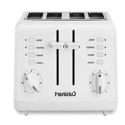 Cuisinart CPT-140 Electronic Cool Touch 4-Slice Toaster, Whi