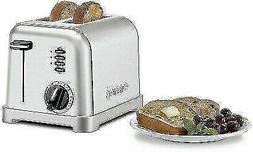 Cuisinart CPT-160 Metal Classic 2-Slice Toaster - Brushed St