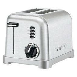 cpt 160 metal classic 2 slice toaster