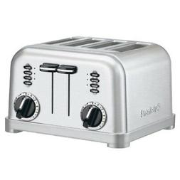 Cuisinart CPT-180 4-Slice Metal Classic Toaster - Brushed St