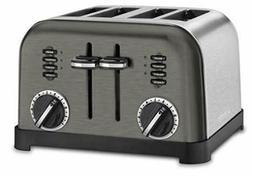 Cuisinart CPT-180 Metal Classic Toaster, 4-Slice, Black Stai