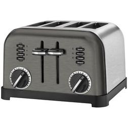 Cuisinart CPT-180BKS 4-slice Metal Classic Toaster Appl Blac