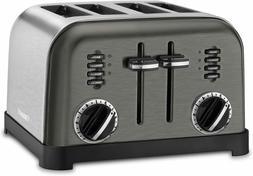 Cuisinart CPT-180BKS Metal Classic Toaster, 4-Slice, Black S