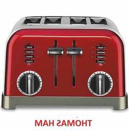Cuisinart CPT-180MR Metal Classic Toaster, 4 Slice, Metallic