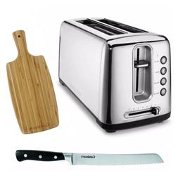 Cuisinart CPT-2400 The Bakery Artisan Bread Toaster + Free B