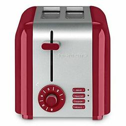 Cuisinart CPT-320R 2-Slice Compact Toaster, Stainless SteelR
