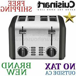 Cuisinart CPT-240TNFR Elements 4 Slice Toaster, Black