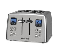 Cuisinart CPT-435FR Countdown 4 Slice Toaster, Silver