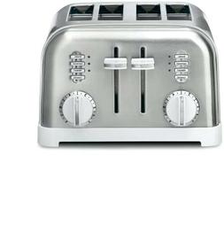 Cuisinart CPT-180WP1 Metal Classic 4-Slice toaster, White
