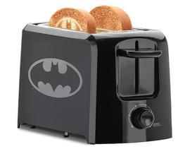 DC Batman Superhero 2-Slice Oven Toaster Browning Adjustable