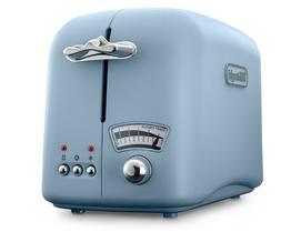 Delonghi 2-Slice Pastel Blue Retro Designer Toaster - Brand