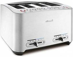 Breville Die-Cast 4-Slice Smart Toaster w/ 4 Extra-Wide Slot