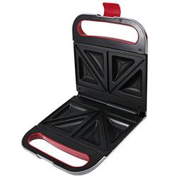 Health and Home Sandwich Maker Toaster with Non-Stick Plates