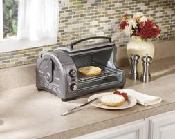 Hamilton Beach Easy Reach 4-slice TOASTER OVEN with Roll-Top