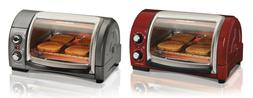 Hamilton Beach Easy Reach Toaster Ovens, 2 Colors
